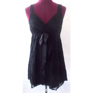 The Limited Small Dress Black Lace Floral LBD